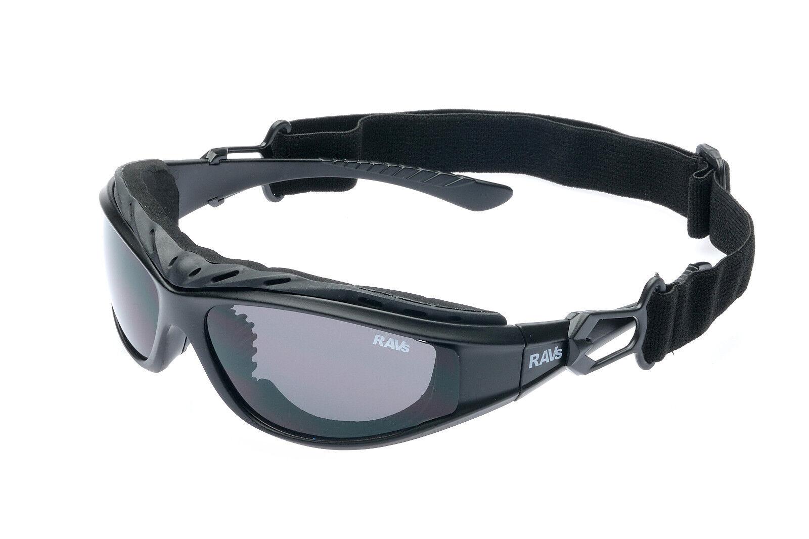 RAVS Sport Sonnenbrille Radbrille Fahrradbrille Schutzbrille mit Band und Bügel
