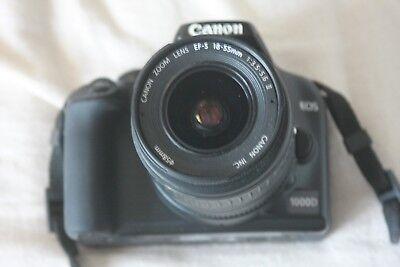 Canon EOS 1000D Gehäuse / Body mit EF-S 18-55 mm II Canon Eos 1000d Body