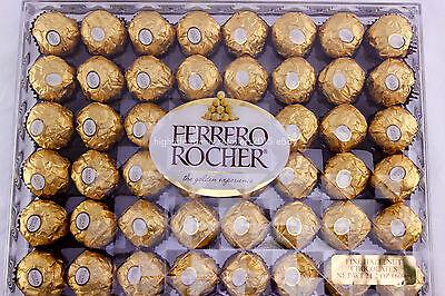 Ferrero Rocher Fine Hazelnuts Milk Wafer Chocolates 21.2 oz. (600g) 48 - Ferrero Chocolate Wafers