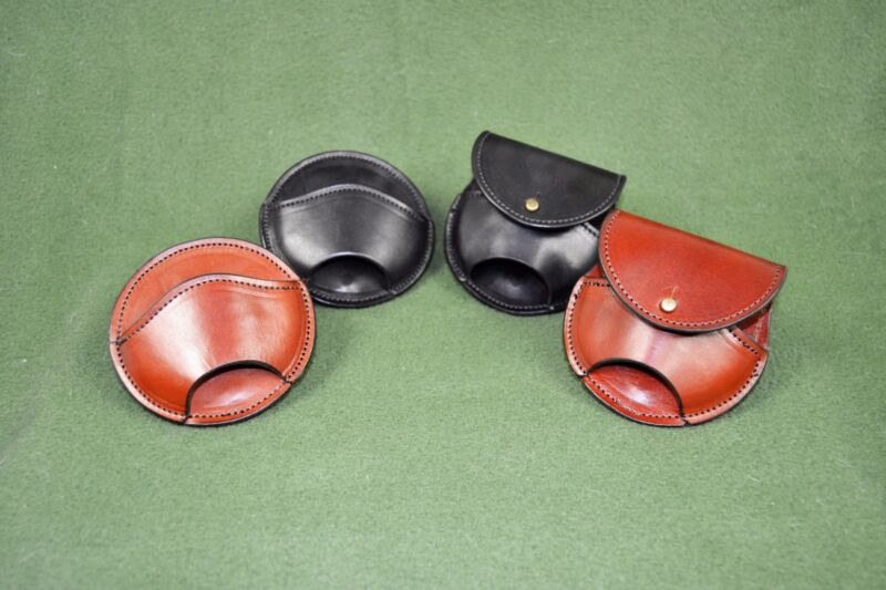 Tombo pitch pipe case, new pitchpipe pouch, leather pitch holder