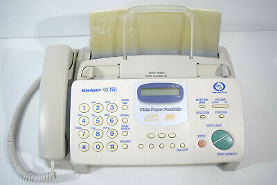 Sharp Ux-355l Heavy Duty Fax Machine Home Office Equipment Copier Used Works