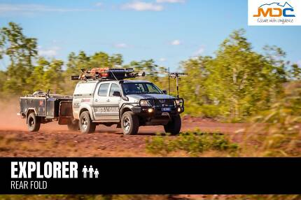 2018 MDC EXPLORER REAR FOLD CAMPER TRAILER Heatherbrae Port Stephens Area Preview