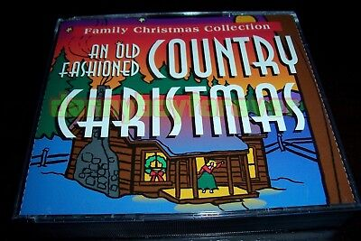 Family Collection An Old Fashioned Country Christmas 5 CD Box Set (USA 1996)