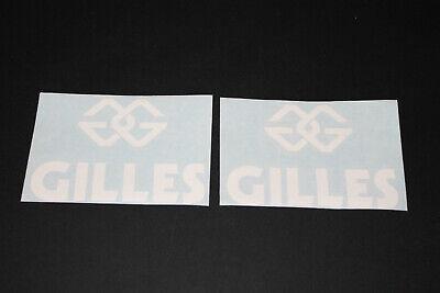 #560 Gilles Accesorios Tuning Carreras Pegatina Calcamonía Bapperl Adhesivo