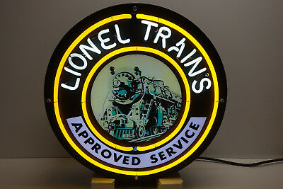 Lionel Train Corporation Neon Sign For Service Stations  Awesome Collectable