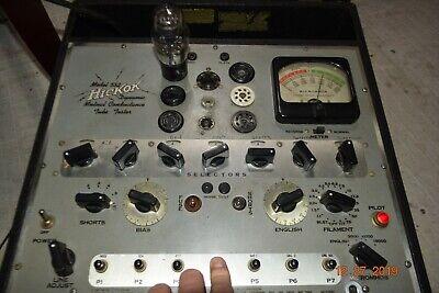 Vintage Hickok 532 Tube Tester O1a 12ax7 6l6