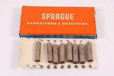 8 Nos Sprauge Koolohm 1000 Ohm 10 Watt Resistors Non-inductive New Old Stock