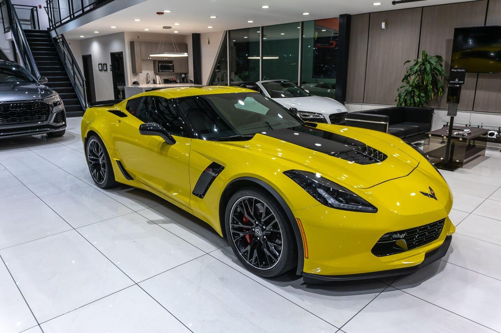 2016 Yellow Chevrolet Corvette Coupe 2LZ   C7 Corvette Photo 6