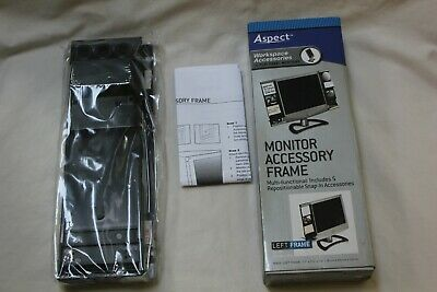 Monitor Mount Document Clip Computer Accessory Frame Mirror Note Holder Card