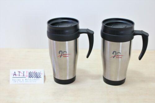 Rare JDM Nissan 70th Anniversary Insulated Thermal Travel Coffee Mug Cup Set