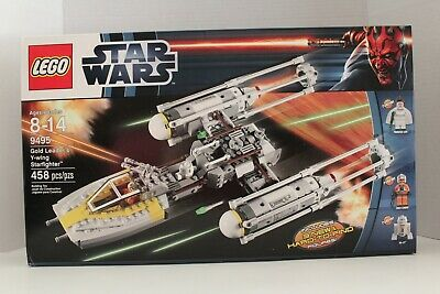 LEGO Star Wars 9495 Gold Leader's Y-Wing Starfighter NEW SEALED