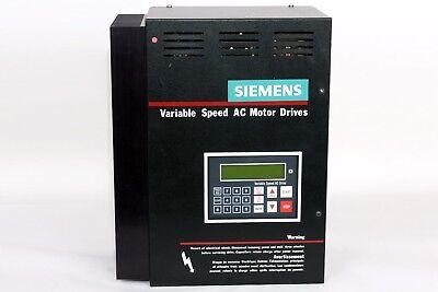 Siemens Dl14050ab Variable Speed Ac Motor Drives Input Volts 460v