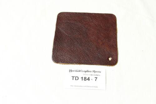 """Burlington Brandy"" Brown Craft Leather Piece Approx. 6"