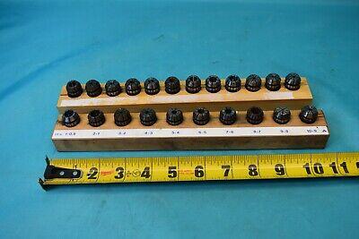 Used Er-16 Collet Set 22 Pcs
