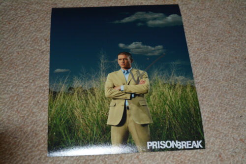 WENTWORTH MILLER  signed Autogramm 20x25 In Person  PRISON BREAK