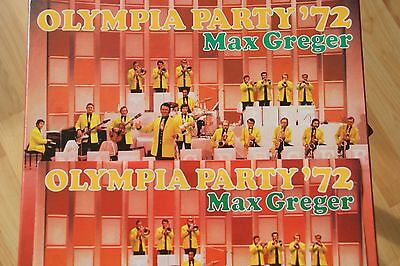 Max Greger:Cassette mit 2 LPs: Olympia-Party 1972