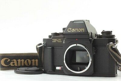 【Exc+++++】Canon New F1 AE Finder 35mm SLR Film Camera w/ Strap from Japan  #463