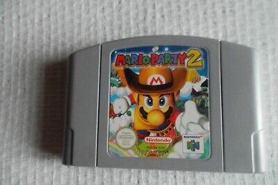 Jeu Nintendo 64 / N64 Game Mario Party 2 PAL retrogaming original * save ok