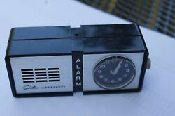 Vintage Chateau Sonochron Travel Desk Alarm Clock. Pre owned