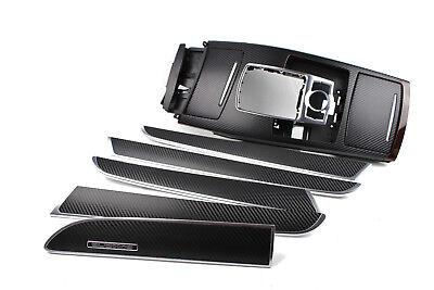 Original Audi A6 4F C6 Dekorleisten Interieurleisten Set Carbon 3D Folie schwarz gebraucht kaufen  Hilter