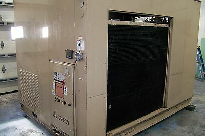 Curtis Since 1854 Rs300 300 Hp. Rotary Screw Air Compressor Warranty Year 2012