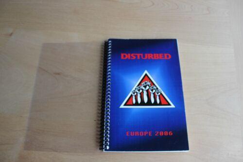 Disturbed - Tour ITINERARY / European Tour 2006