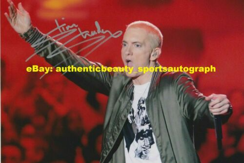 EMINEM THE REAL SLIM SHADY RAPPER SEXY AUTO SIGNED 12x18 POSTER PHOTO REPRINT RP