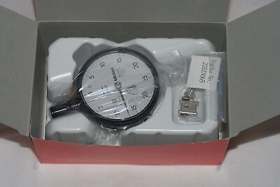 Mitutoyo 2507sb Dial Indicator 4-48 Unf Thread 0.375 Stem Dia. Flat Back