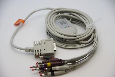 New Patient Cable For Burdick Ek-10 Ek10 Elitee350e350i Model 012-0700-00