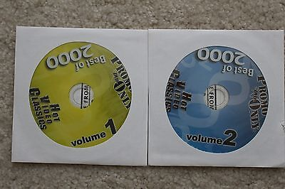 Promo Only DVD Best of 2000 Hot Video Classics, Volume 1 & 2