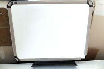 Used Quartet Prestige Euro Total Erase Board 24x18 Titanium Frame See Options