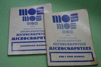 Rare Vintage MOS Microcomputers KIM-1 Microcomputer Manuals 1976 Second Edition