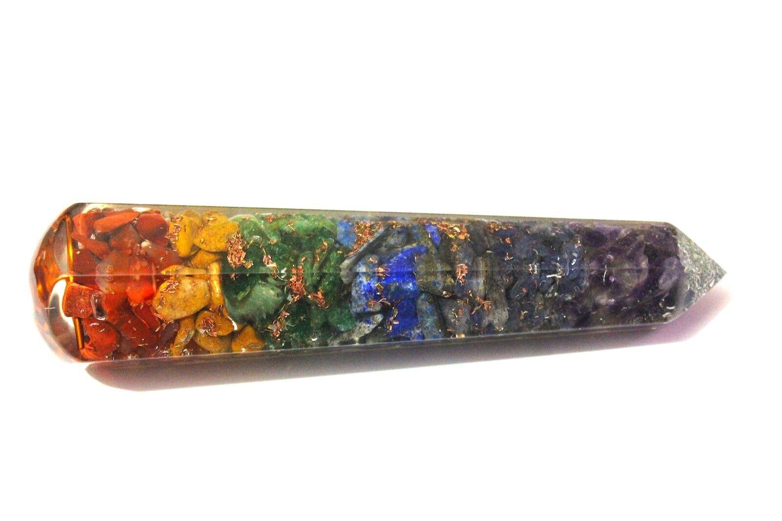 Reiki Energy Charged Amethyst Crystal Orgone Pyramid Powerful Energy GeneratorUK