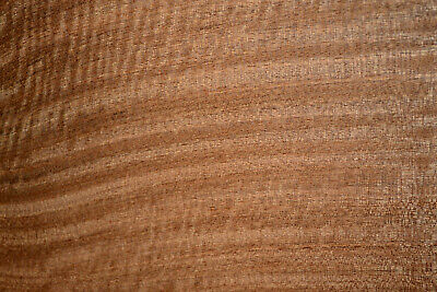 Sapele Raw Wood Veneer Sheets 7 X 15 Inches  142nd C2143-47
