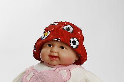 Babyhut Kinderhut Fischerhut Fussball Mütze Jungen Mädchen  - Baby Fußball Hut