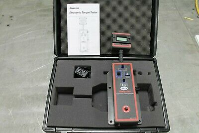 Snap On Electronic Torque Tester 5-50 In Lbs