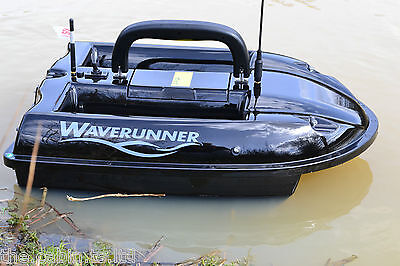 New Waverunner Bait Boat 2020/21 Version + Solar Panel + Spare Battery **SALE**