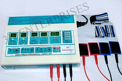 Latest Computerized Interferential Therapy Machine Ift Physiotherapy Equipment