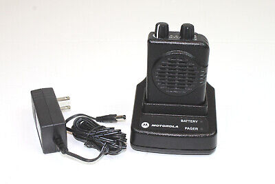 Motorola Minitor V 5 Vhf Low Band Pager 45-48.995 Mhz 1 Ch Non-stored Voice