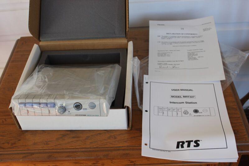 TelexMRT-327, 2 Channel RTSIntercomUser Station w/ A5F connector (New In Box)