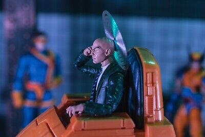 Translucent Professor X Powers EFFECT ONLY Mezco, Marvel Legends