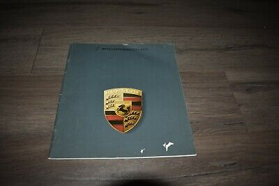 1985 Porsche 911 Carrera 944 928S sales brochure
