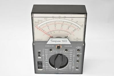 Simpson 160 Analog Multimeter