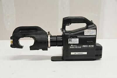 Huskie Rec-510 Cordless 12 Ton Hydraulic Crimper