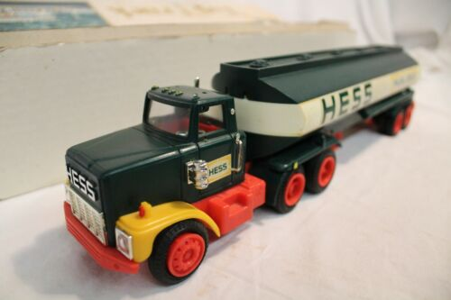 Hess Fuel Oils Gasoline Tractor Trailer 18 Wheeler Collectible Toy Truck