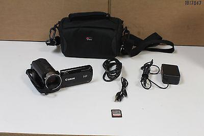 CANON VIXIA HF R500 1080HD Video Digital Camcorder w/ Bag - Clean & Tested!