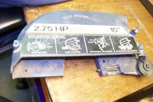 """craftsman 815633 -- 10"""" radial arm saw blade gaurd 2.75hp"""