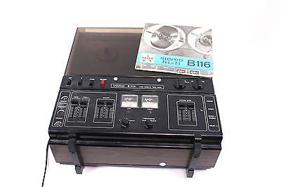 TESLA B116 High Fidelity Tape Deck Tonbandgerät Bandmaschine Tonband-Spieler