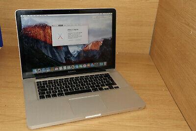 Apple MacBook PRO A1286 MID 2009 2.53GHZ 8GB 240GB SSD NVIDIA 9400M 10.11.1 #17