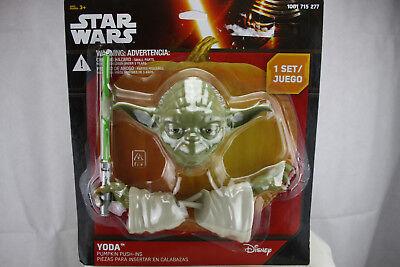 YODA STAR WARS Pumpkin Push Ins 111116124